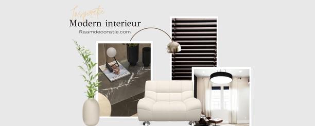 Moderne woonstijl: 4x moderne raamdecoratie