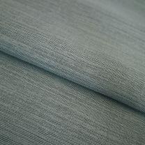 vouwgordijn op maat gloss stofdetail waterblauw