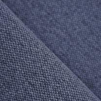 vouwgordijn op maat lichtdoorlatend woven stofdetail saffierblauw