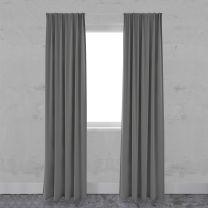 Gordijn Smooth Smart dim-out light grey voorkant