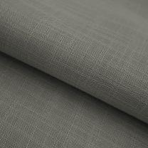vouwgordijn op maat transparant weave stofdetail beigebruin
