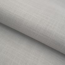 vouwgordijn op maat transparant weave stofdetail zuiverwit