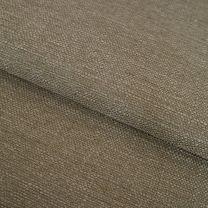 vouwgordijn op maat yarn stofdetail bruingrijs