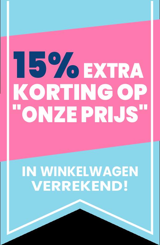 15% SALE Korting