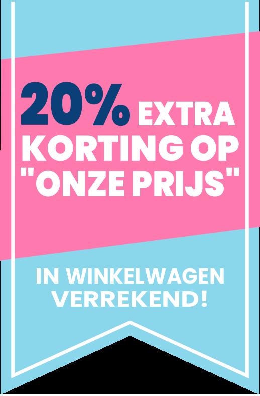 20% SALE Korting