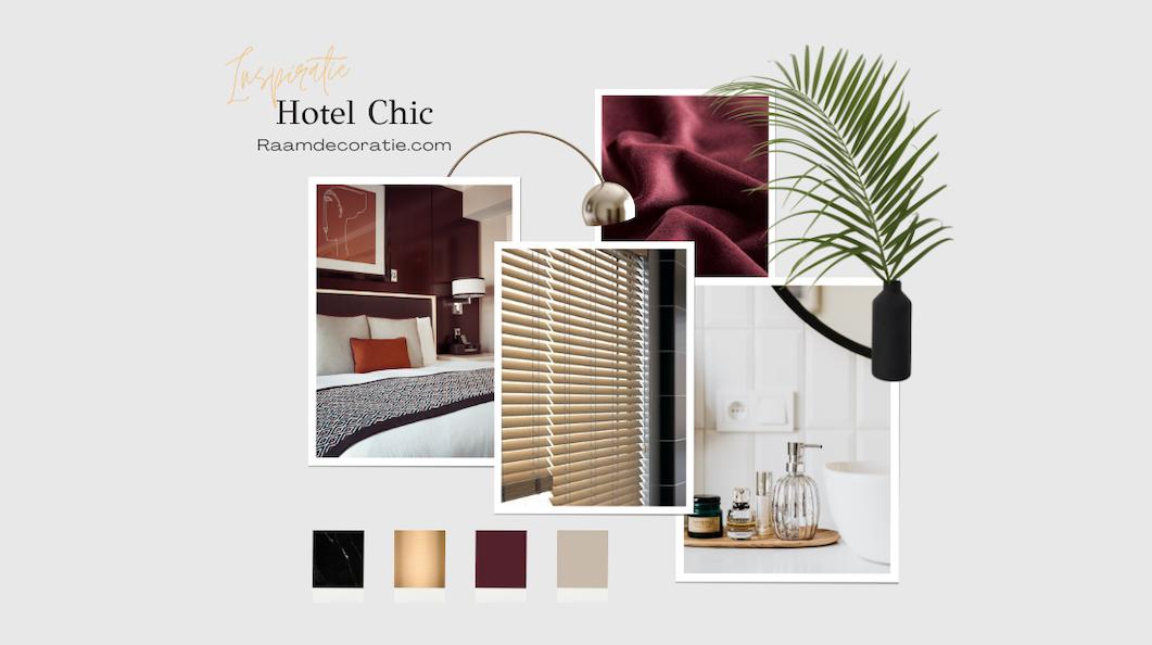 moodboard inspiratie hotel chic