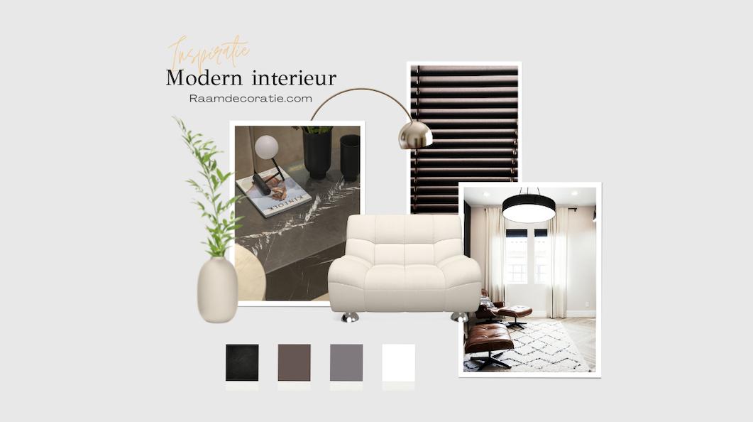 moodboard inspiratie modern interieur