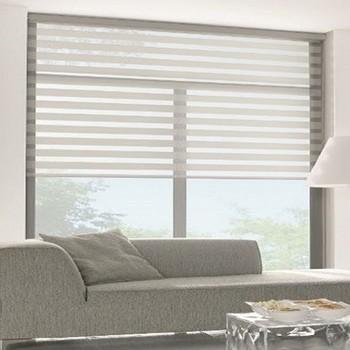 duorolgordijnen raambekleding voor grote ramen