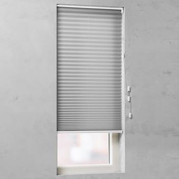 raamdecoratie zonder boren plissegordijn populair