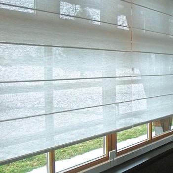 vouwgordijnen raambekleding voor grote ramen